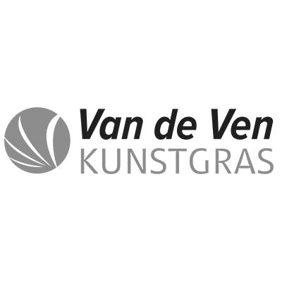 VandeVenKunstgras-logo-zwartwit