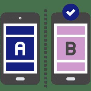 A/B testing Mr Online Marketing conversie optimalisatie