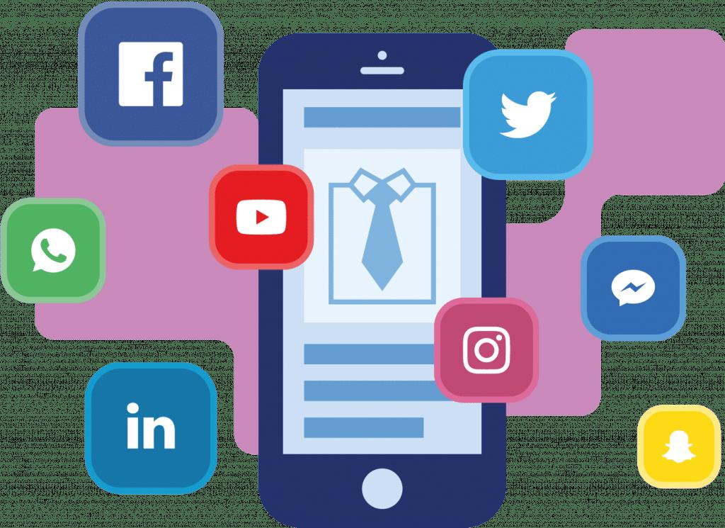 Mr Online Marketing - social media kanalen visual